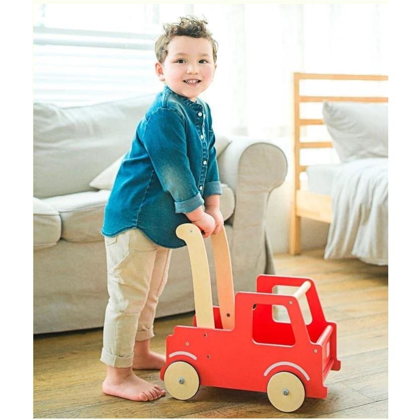 Moover Line Red Push Truck - Moover