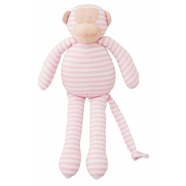 Alimrose Designs,Musical Monkey Pink Stripe,Elle J