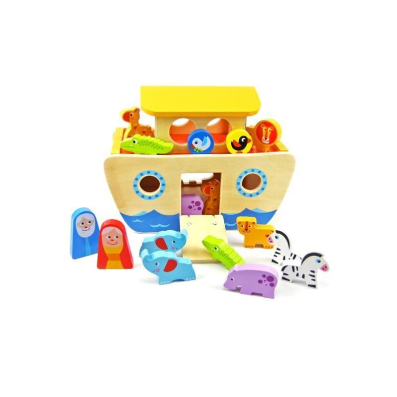 Noah's Ark Wooden Playset - Eleganter