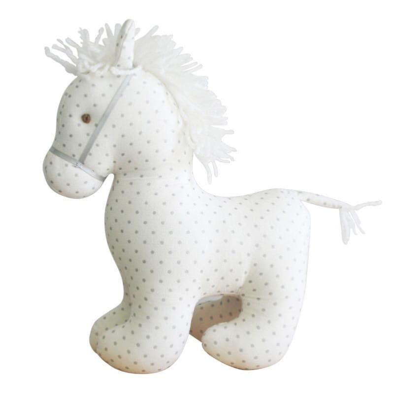 Pony Toy Spotty Grey - Alimrose Designs