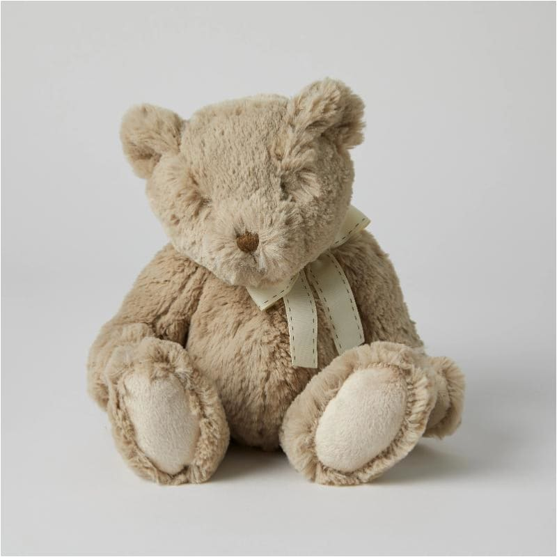 Super Soft Plush Teddy | BEIGE 23CM - Jiggle & Giggle