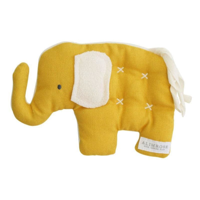 Alimrose Designs,Toby Elephant Comfort Toy Butterscotch,Elle J