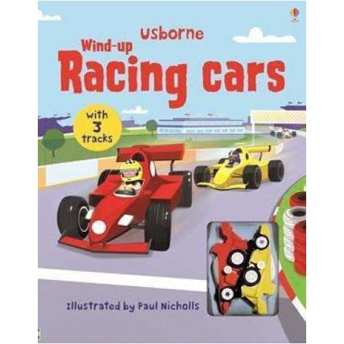 ,Usborne Wind-Up Racing Cars,Elle J