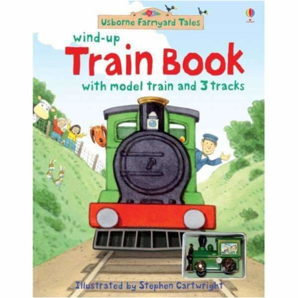 Brumby Sunstate Books,Usborne Wind-Up Train Book,Elle J