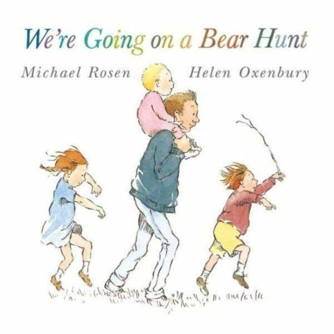 ,We're Going On A Bear Hunt Paperback,Elle J