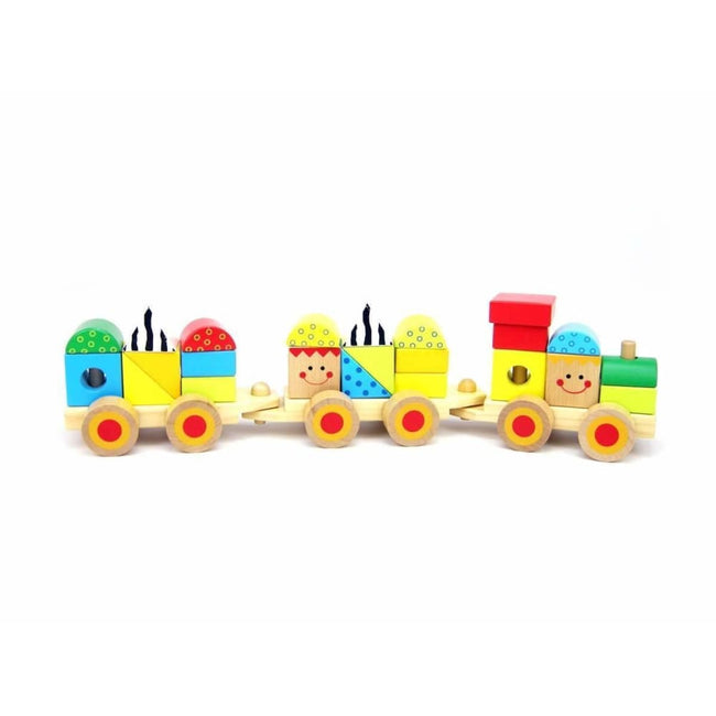 Eleganter,Wooden Block Train,Elle J