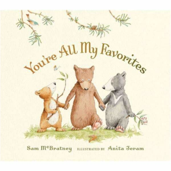 Brumby Sunstate Books,You're All My Favourites Board Book,Elle J