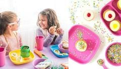 Lunchtime with Re-Play Recycled Kids Dinnerware