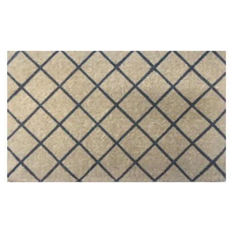 Grey Trellis Door Mat