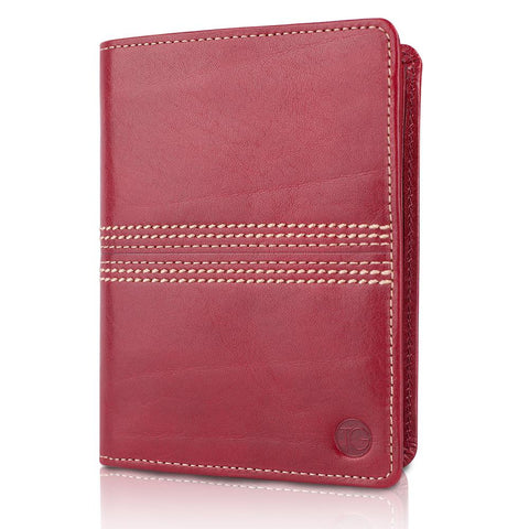 The Tourist | Slimline Travel Wallet | Cherry