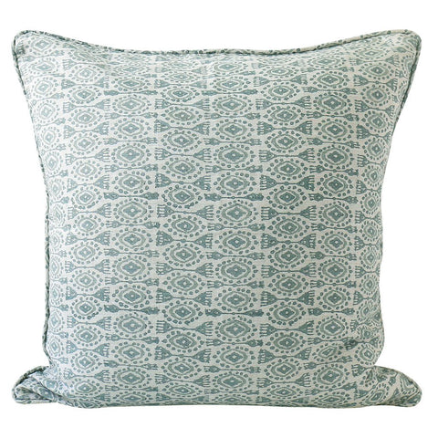 Yuzu Celadon Linen Cushion Cover | 55 x 55cm