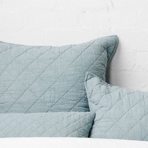 Soho European Pillowcase | Lake