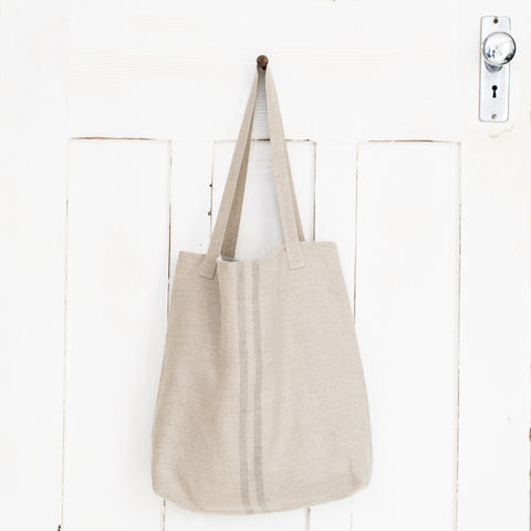 Septembre Tote Bag | Grey