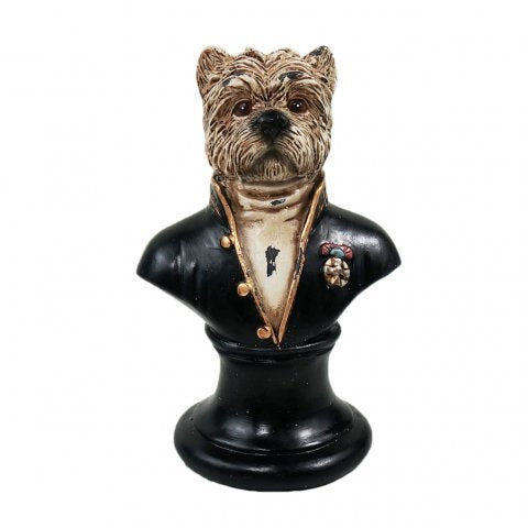 Monsieur Dog Statue | Noir