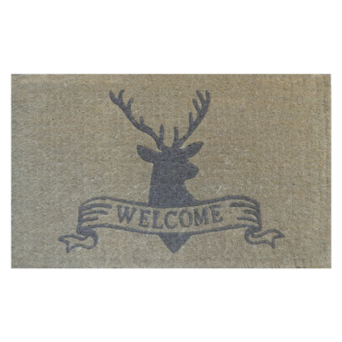 Welcome Deer Door Mat
