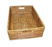 Domestic Rattan Basket | Antique