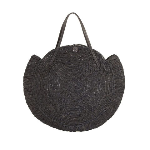 Nova Bag | Raffia Noir | Medium