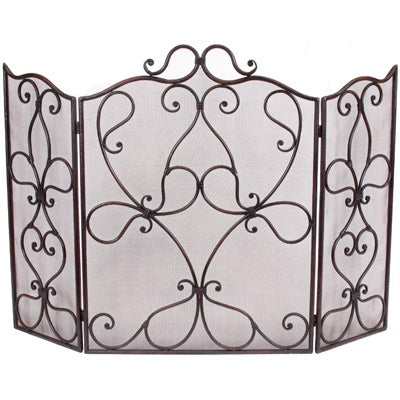 Fire Screen | Scroll Design