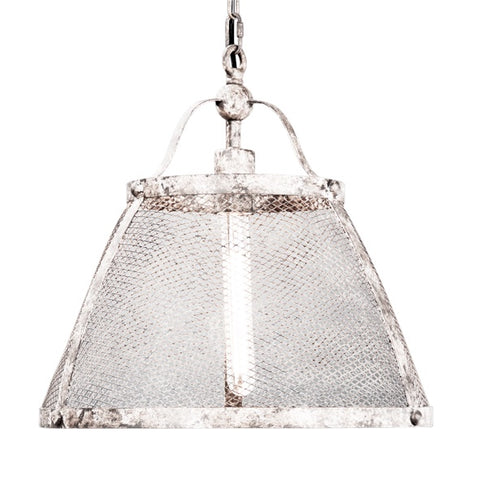 Portsmouth  Antique White Hanging Pendant Light