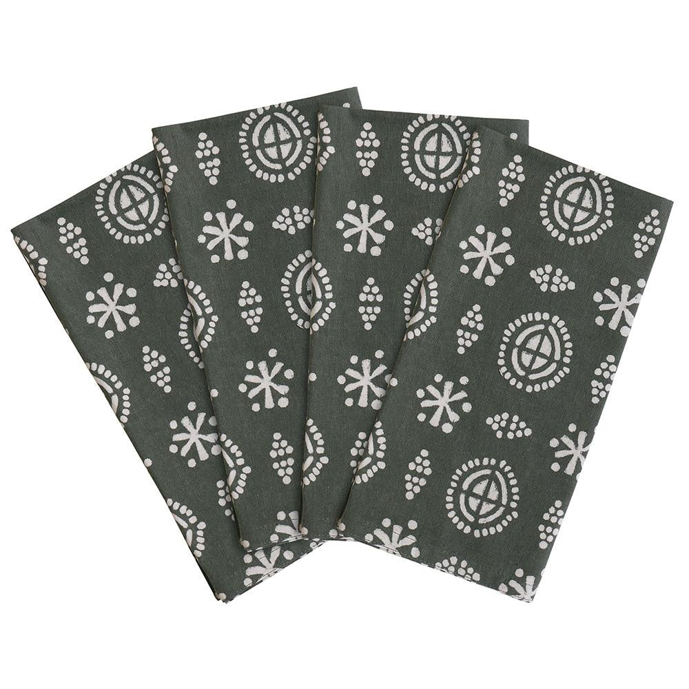 Amreli Bayleaf Napkins | Set of 4