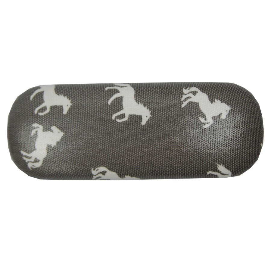 Grey Horse Glasses Case