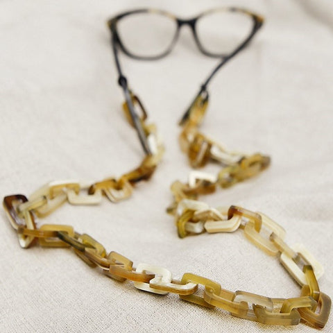 Buffalo Horn Glasses Chain | Eco Friendly | Light