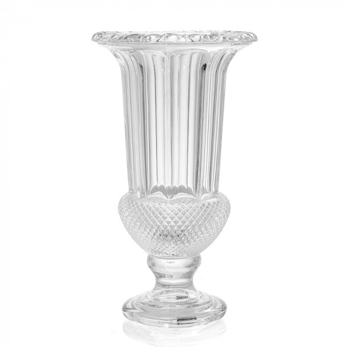 Glass Cut Urn