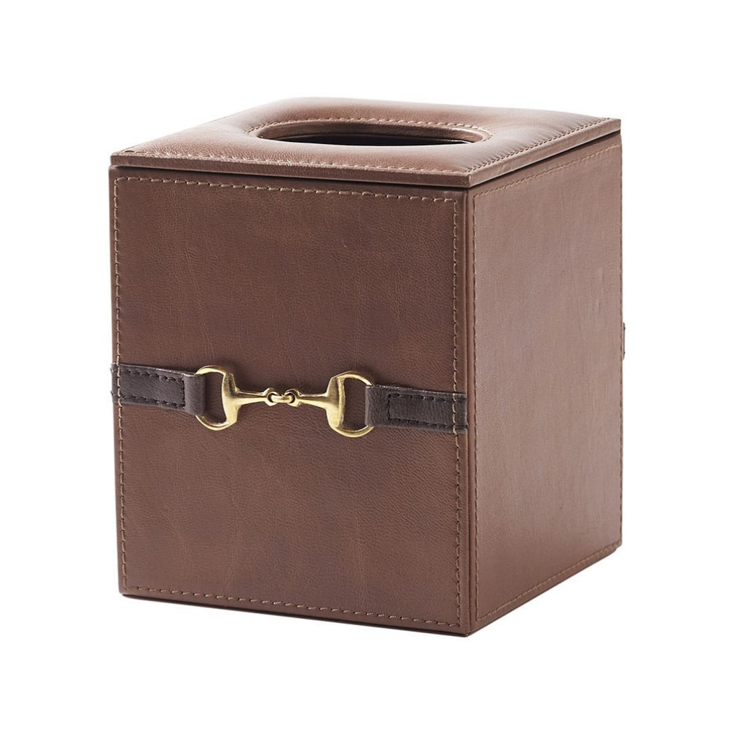 Leather Tissue Box - PL93 Square