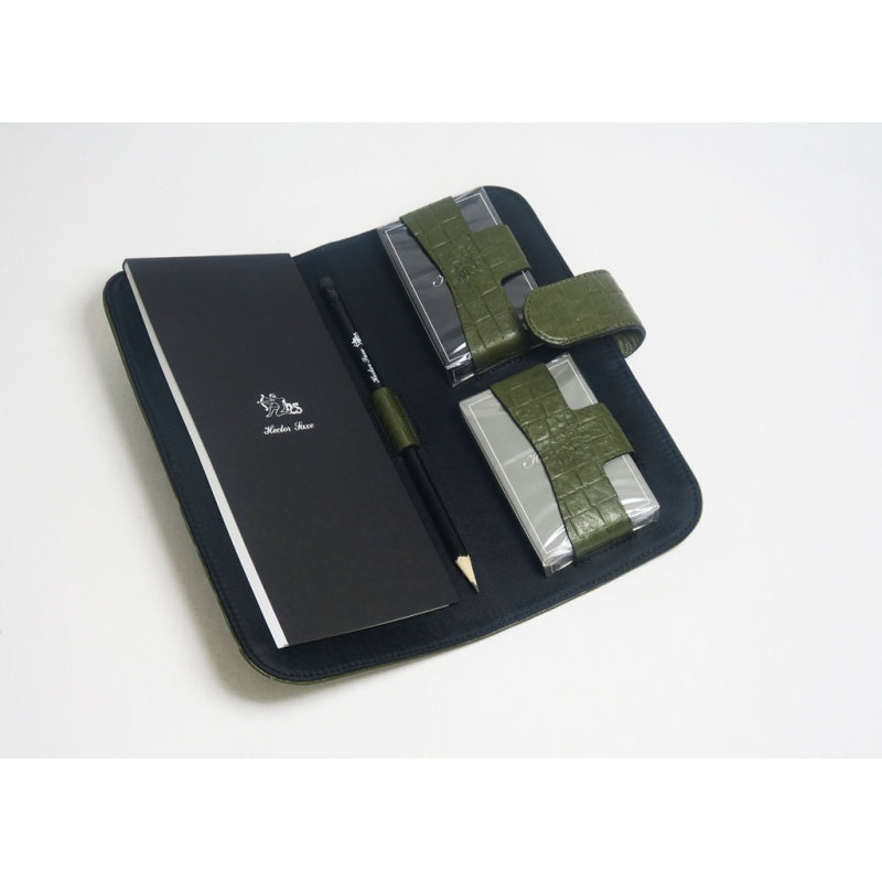 Leather Card Case | Olive Green