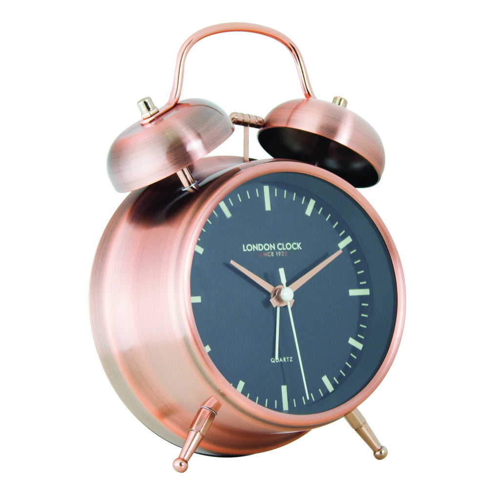 Blaze Copper Alarm Clock