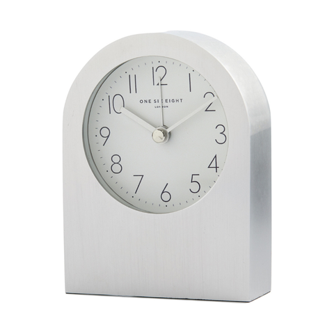 Silver Bella Alarm Clock | Silent Movement