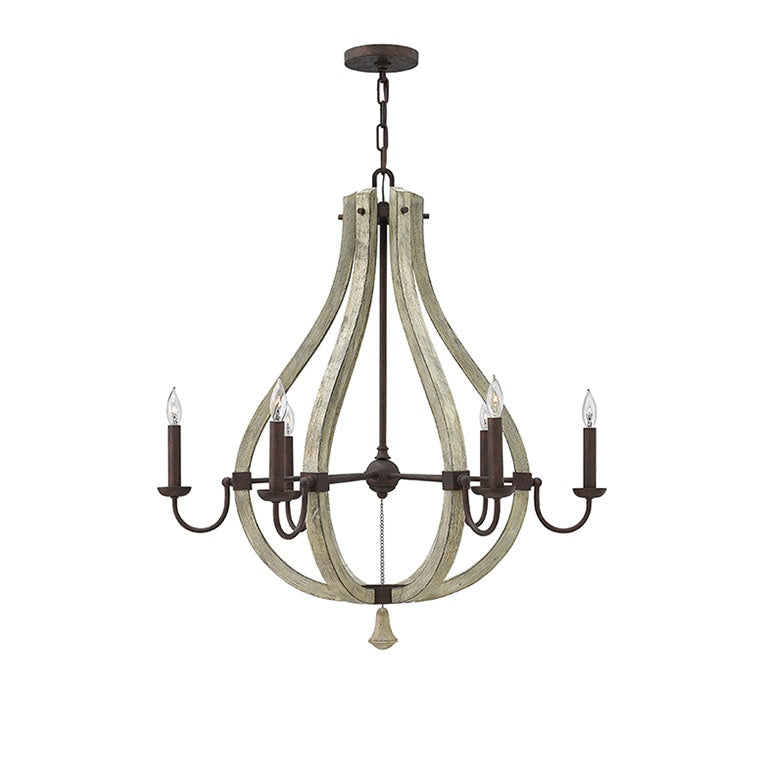 Middlefield Chandelier | 6 Light