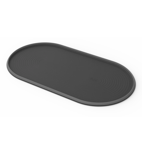 Silicone Pet Feeding Mat | Black Stone