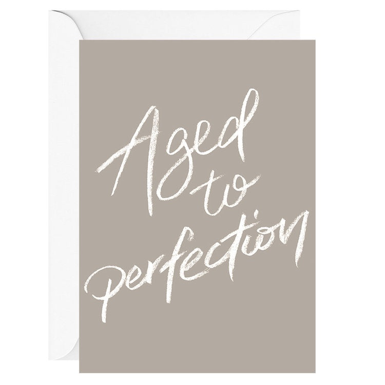 Aged To Perfection | Card & Envelope