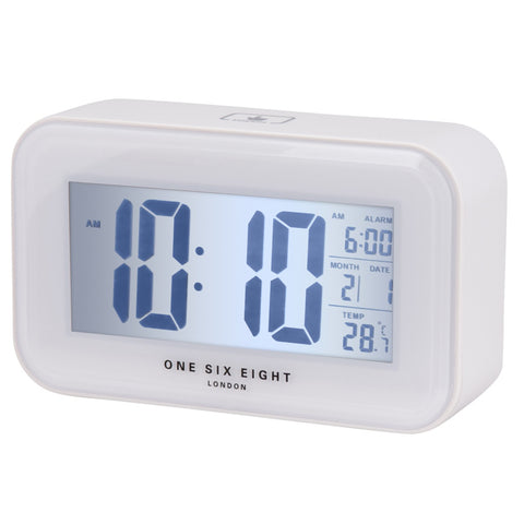 White Digital Alarm White