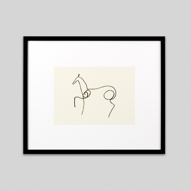 Le Cheval Framed Print | Picasso