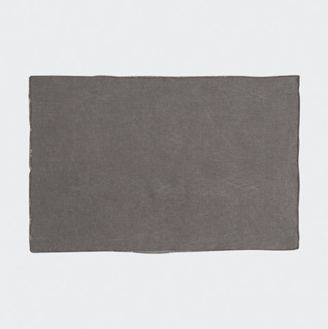 Bay Linen Placemat | Dark Grey
