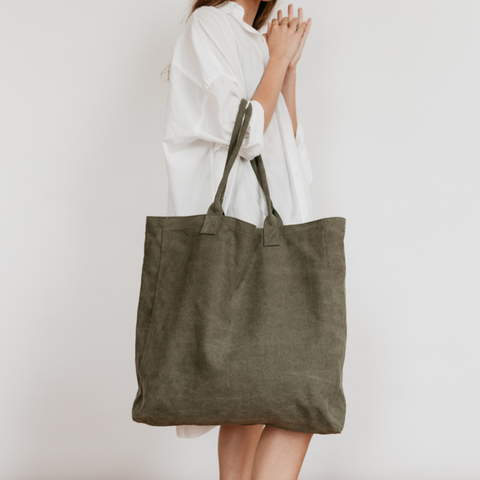 Great Big Canvas Bag | Khaki