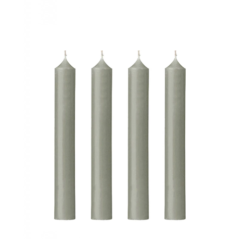 Dinner Candle | Pearl Grey | Made in France