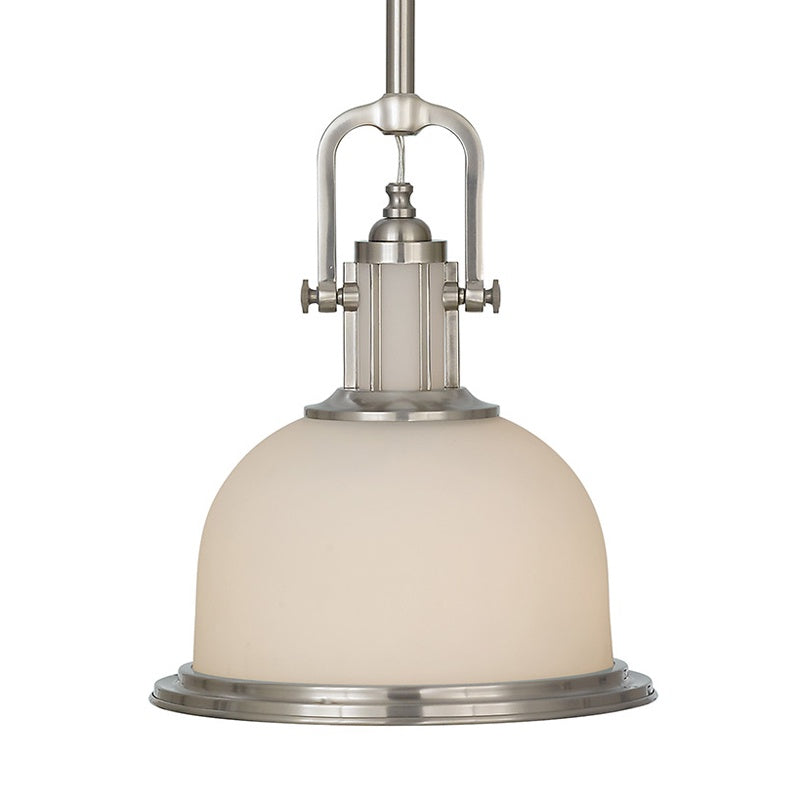 Pendant Light - Posey - Brushed Steel CH