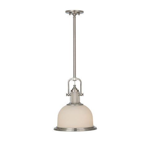 Posey Pendant Light | Brushed Steel