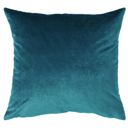Berlingot Cushion Cover | Peacock Blue | 45 x 45cm