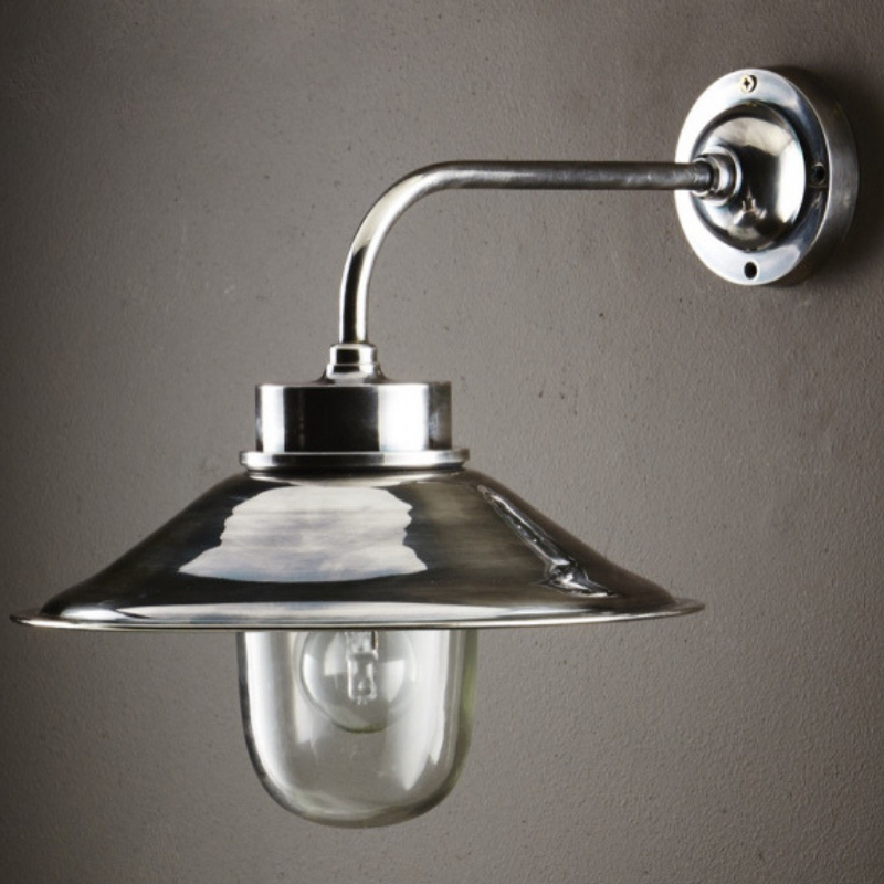Wall Lamp | Sandhurst | Antique Silver