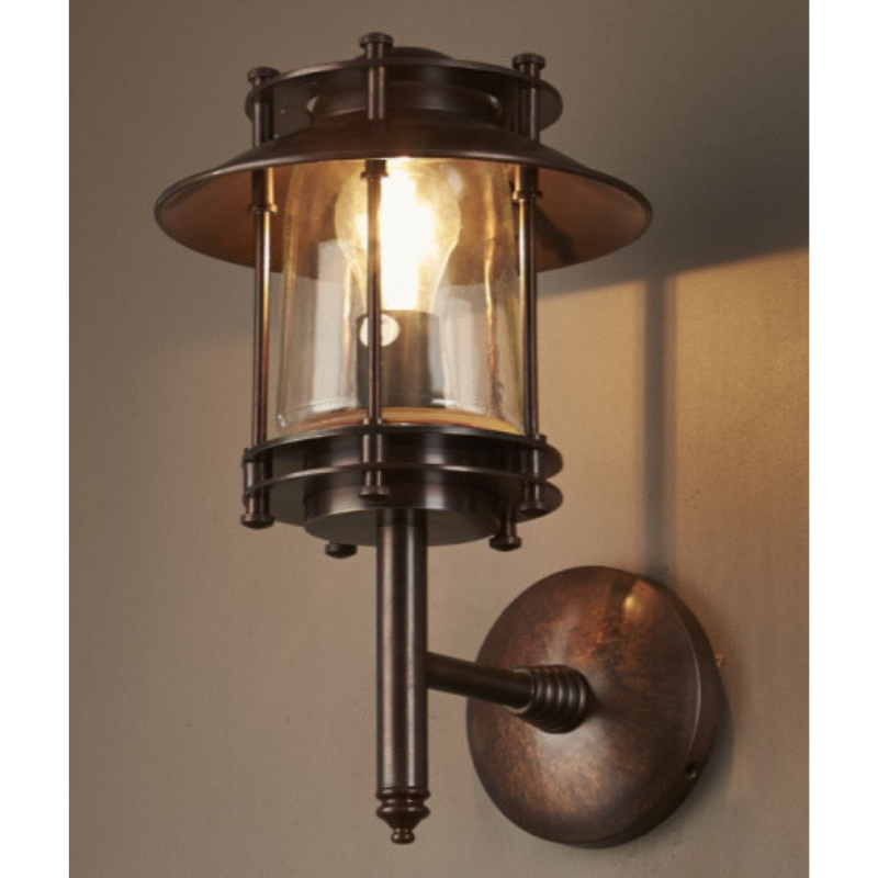 Turner Wall Lamp | Dark Brass ND