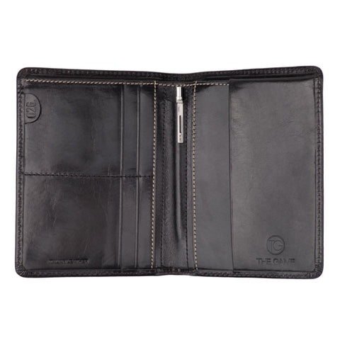 The Tourist  | Black Slimline Wallet