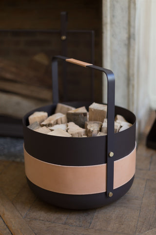 Wood Basket - Natural - Made in Scandinavia