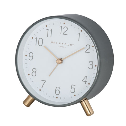 Maisie Alarm Clock | Grey