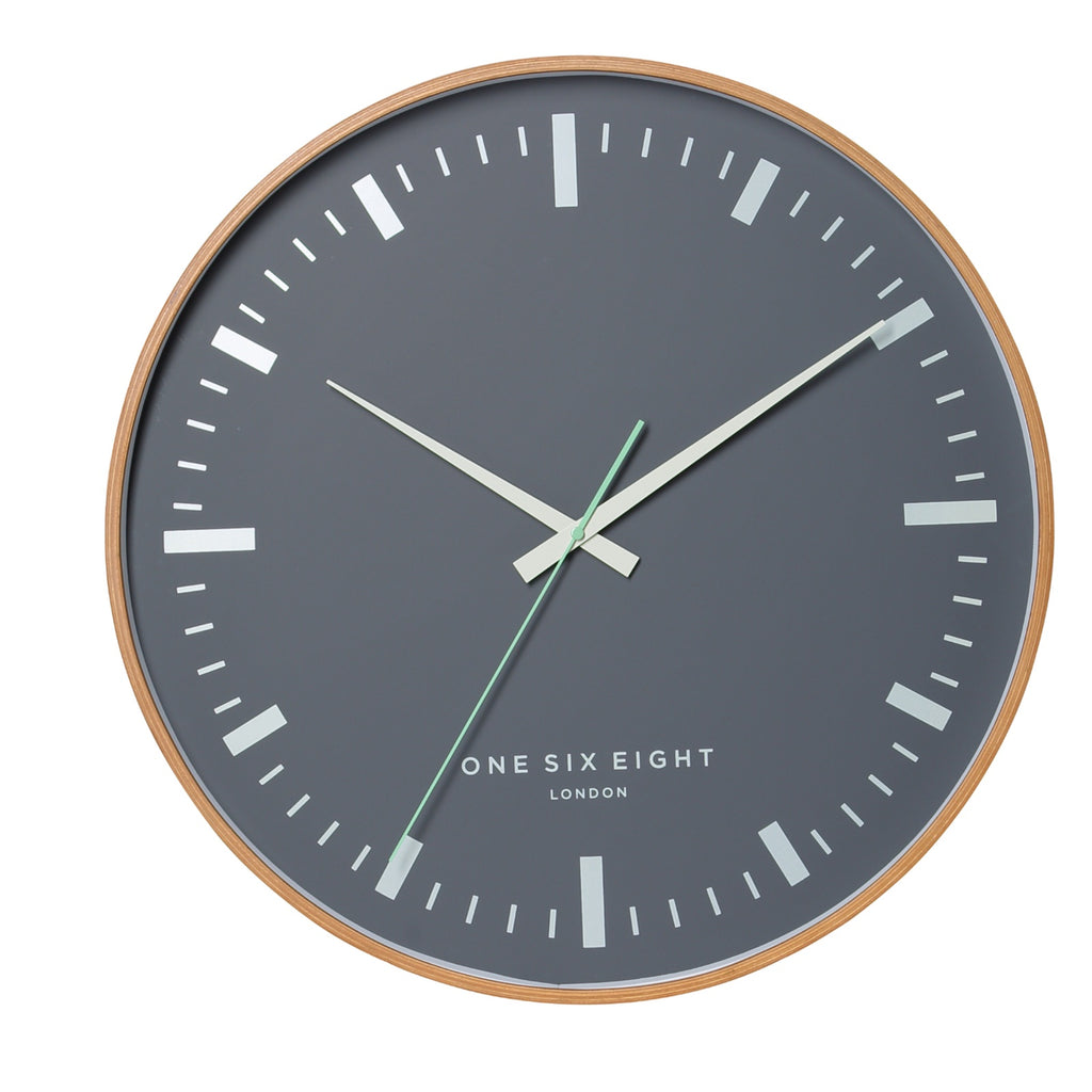 Helene Wooden Wall Clock | Silent Sweep | 51cm