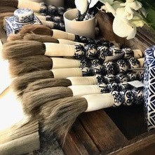 Blue & White Calligraphy Brush | Medium