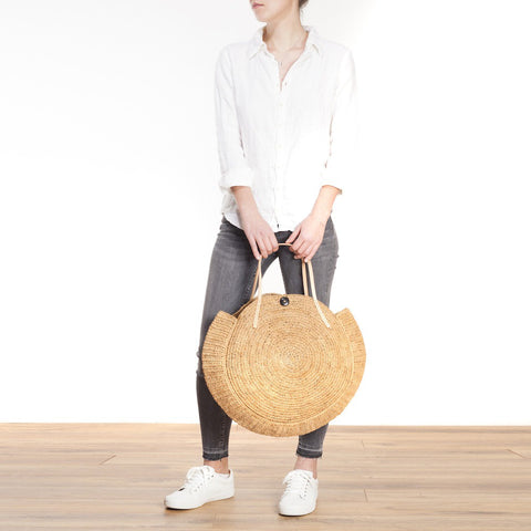 Nova Bag |  Raffia Natural | Medium
